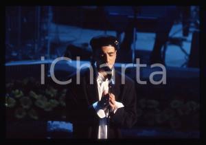 35mm vintage slide*1996 SANREMO GIOVANI Vito MARLETTA al Teatro Ariston (1)