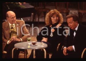 35mm vintage slide*1997 SANREMO Mike BONGIORNO Caterina CASELLI - DOPO FESTIVAL