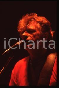 35mm vintage slide* 1990ca MUSICA Dave EDMUNDS Ritratto del cantante