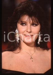 35mm vintage slide* 1990ca ITALIA COSTUME Claudia MORI Ritratto dell'artista (1)