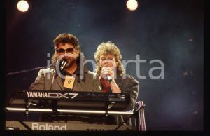 35mm vintage slide* 1988 SANREMO Joseph WILLIAMS David PAICH -TOTO al Palarock 1