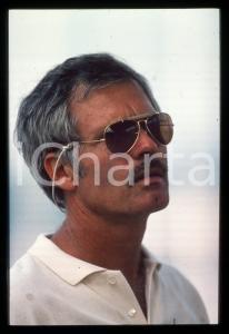 35mm vintage slide* 1995ca MUSICA Ted TURNER dei Wishbone Ash Ritratto (1)