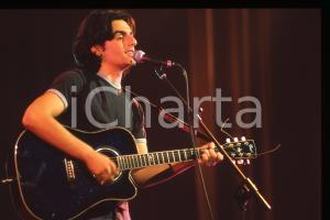 35mm vintage slide* 1999 SANREMO Davide DE MARINIS al Jubilmusic Festival (2)