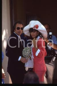 35mm vintage slide* 1990 RAMATUELLE Adeline BLONDIEAU il giorno delle nozze (2)