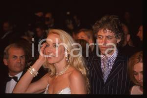 35mm vintage slide* 2000 CANNES Bob GELDOF Jerry HALL al Festival del Cinema 4