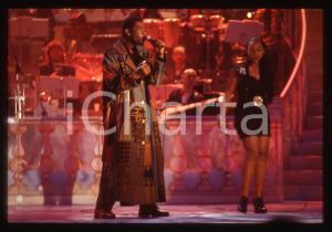 35mm vintage slide* 1995ca RAI - MUSICA Youssou N'DOUR Ritratto del cantante (1)