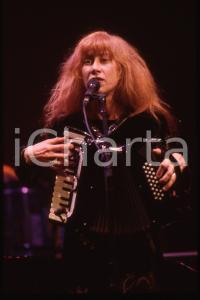 35mm vintage slide* 1995 SANREMO Loreena McKENNITT al Teatro Ariston Ritratto 1