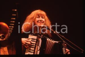 35mm vintage slide* 1995 SANREMO Loreena McKENNITT al Teatro Ariston Ritratto 4