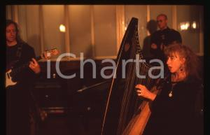 35mm vintage slide* 1995ca MUSICA Loreena McKENNITT Ritratto della musicista 4