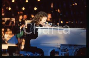 35mm vintage slide*1988 RAFFAELLA CARRA' SHOW Umberto TOZZI in concerto (1)