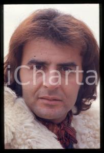 35mm vintage slide* 1980ca ITALIA COSTUME Patrick SAMSON Ritratto del cantante 1