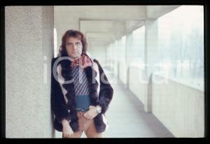 35mm vintage slide* 1975ca ITALIA COSTUME Patrick SAMSON Ritratto del cantante 6