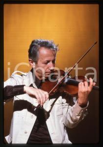 35mm vintage slide* 1980ca ITALIA MUSICA Giusto PIO Ritratto del musicista (2)