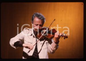 35mm vintage slide* 1980ca ITALIA MUSICA Giusto PIO Ritratto del musicista (4)
