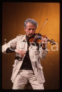 35mm vintage slide* 1980ca ITALIA MUSICA Giusto PIO Ritratto del musicista (16)