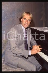 35mm vintage slide*1982 MUSICA Richard CLAYDERMAN concerto in salotto privato 4