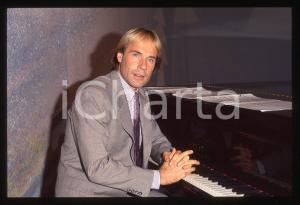 35mm vintage slide*1982 MUSICA Richard CLAYDERMAN concerto in salotto privato 6