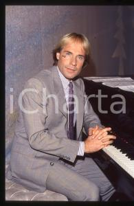 35mm vintage slide*1982 MUSICA Richard CLAYDERMAN concerto in salotto privato 8