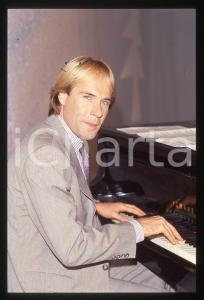 35mm vintage slide*1982 MUSICA Richard CLAYDERMAN concerto in salotto privato 11