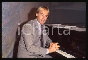 35mm vintage slide*1982 MUSICA Richard CLAYDERMAN concerto in salotto privato 13