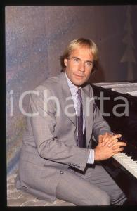 35mm vintage slide*1982 MUSICA Richard CLAYDERMAN concerto in salotto privato 16