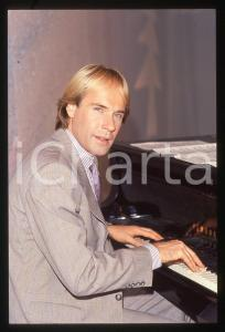 35mm vintage slide*1982 MUSICA Richard CLAYDERMAN concerto in salotto privato 18