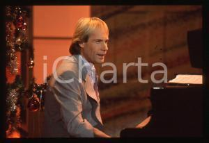 35mm vintage slide*1982 MUSICA Richard CLAYDERMAN concerto in salotto privato 19
