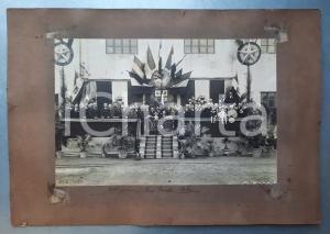 1923 CREMONA Ditta CAVALLI & POLI - Foto di gruppo - AUTOGRAFI - Foto RARA