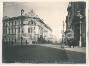 1930 ca PADOVA Palazzo delle Poste e Cassa di Risparmio - Foto C. BENVENUTI