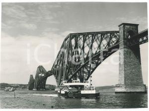 1957 SCOTLAND - The Railway Bridge over the River Forth - VINTAGE Photo