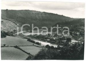 1960 ca TINTERN ABBEY (GALLES, UK) Aerial view - Vintage photo 20x15 cm