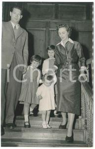 1955 ca AYOT HOUSE (UK) Ex king Michael of Rumania and  his family - Photo