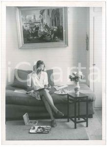 1947 COPENHAGEN Anna di BORBONE-PARMA si dedica alla pittura - Foto