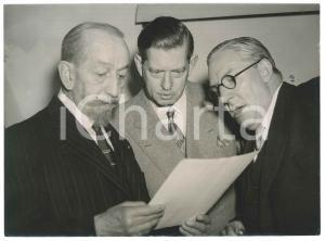 1951 LONDON Stamp Exhibition - Ex king Carol of ROMANIA Sir Henry WILSON - Photo