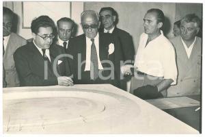 1952 NAPOLI Costruzione stadio - Ottorino BARASSI Achille LAURO Eraldo MONZEGLIO