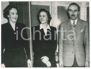 1947 COPENHAGEN Principessa Anna di BORBONE-PARMA con i genitori - Foto
