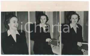 1947 COPENHAGEN Anna di BORBONE-PARMA - Tre ritratti nella casa di famiglia FOTO