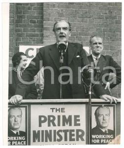 1955 LONDON UXBRIDGE Anthony EDEN holding an election meeting - Photo
