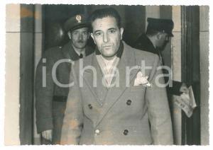 1949 CRONACA - PRATO- Processo delle polverine - Massimo MASSAI - Foto 15x10 cm
