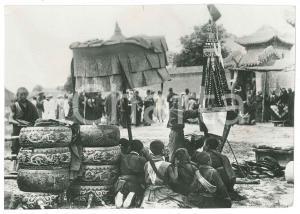 1950 ca TAPANSHAN (CHINA) COSTUMI - Trappola per catturare i diavoli *Foto