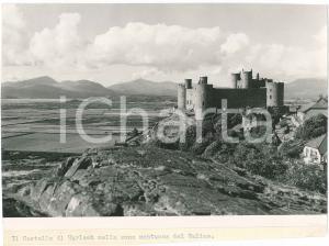 1957 WALES (UK) Harlech Castle - A view - VINTAGE Photo