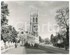1955 ca OXFORD (UK) Magdalen College - The tower - Photo 23x18 cm