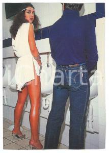 1986 UK - SUN125 - EQUALITY - Urinal - VINTAGE postcard