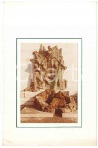 1970 ca VILLADOSSOLA Il nuovo Monumento al Lavoro - Foto 13x19 cm