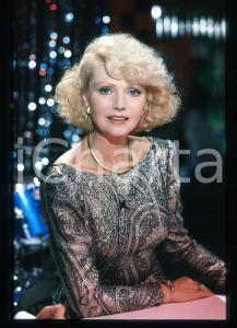 35mm vintage slide* 1985 IL CAPPELLO SULLE 23 Sylva KOSCINA Ritratto attrice