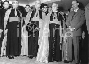 1955 GENOVA Arrivo card. Benedetto Aloisi MASELLA alla stazione marittima (3)