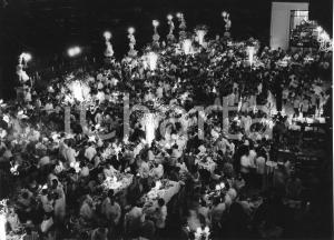 Agosto 1955 MONTECARLO Sporting d'Eté - Serata di gala - Foto vintage 24x18