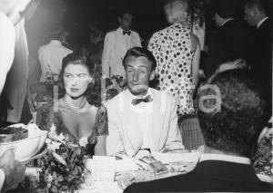 Agosto 1955 MONTECARLO Sporting d'Eté - Cena di gala - Foto vintage 24x18