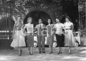 1956 RAPALLO Concorso di bellezza - Raduno di aspiranti miss - Foto 24x18 cm