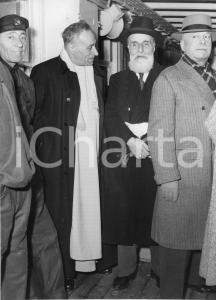 1955 GENOVA Partenza nobili invitati alle nozze di Maria Pia di Savoia - Foto